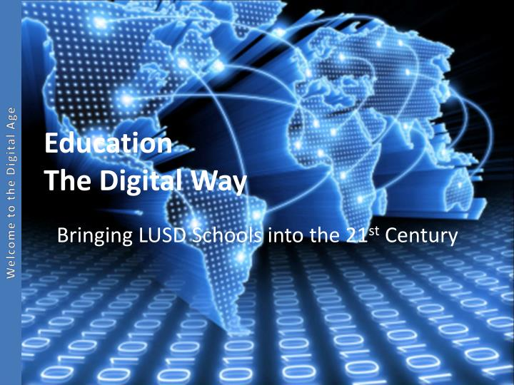 Education the digital way
