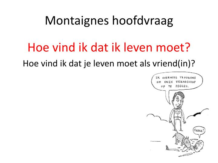 Montaignes