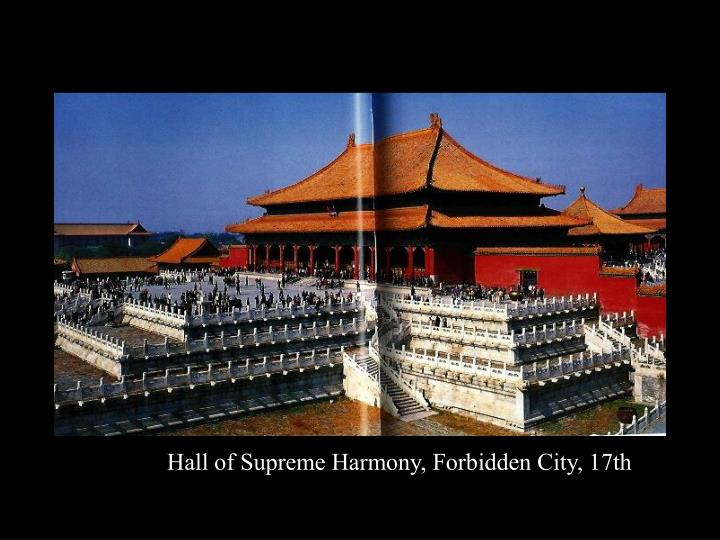 Hall of Supreme Harmony, Forbidden City, 17th