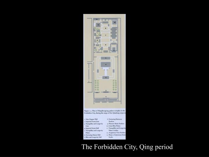The Forbidden City, Qing period