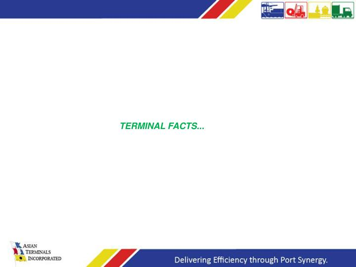 TERMINAL FACTS...