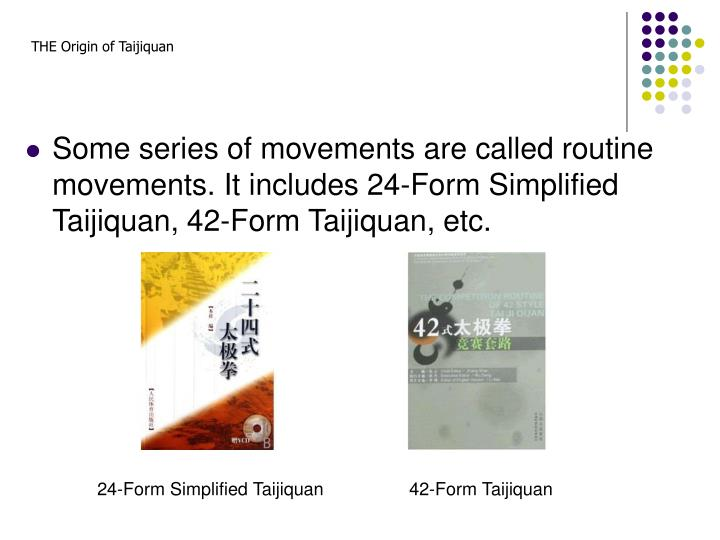 THE Origin of Taijiquan
