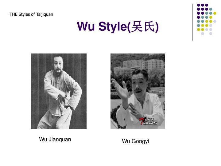 Wu Style(