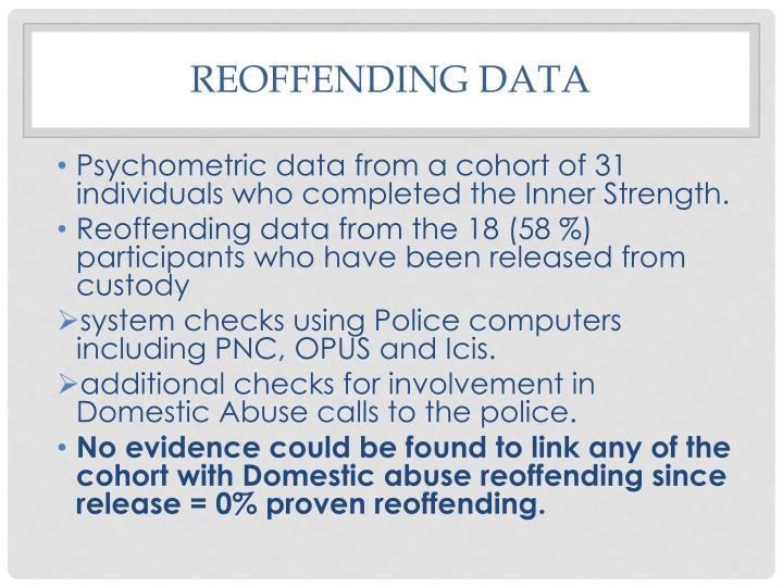 Reoffending Data
