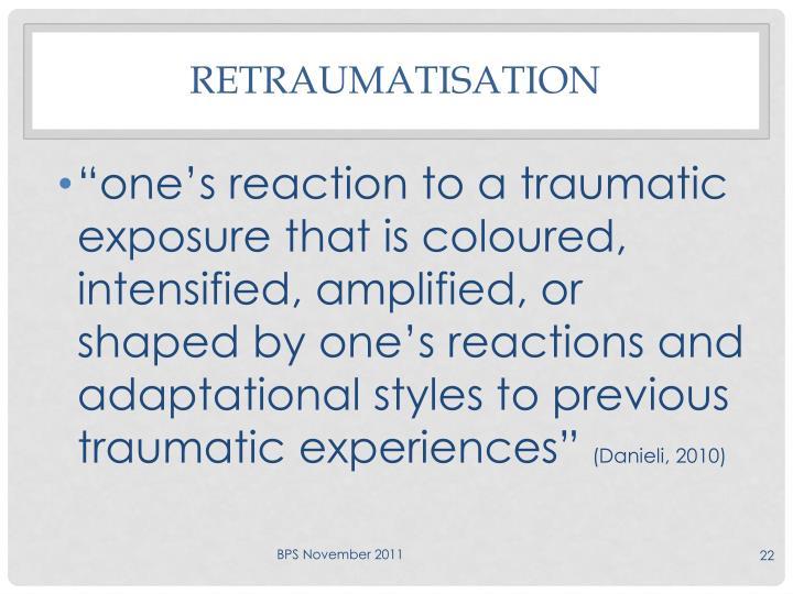 Retraumatisation