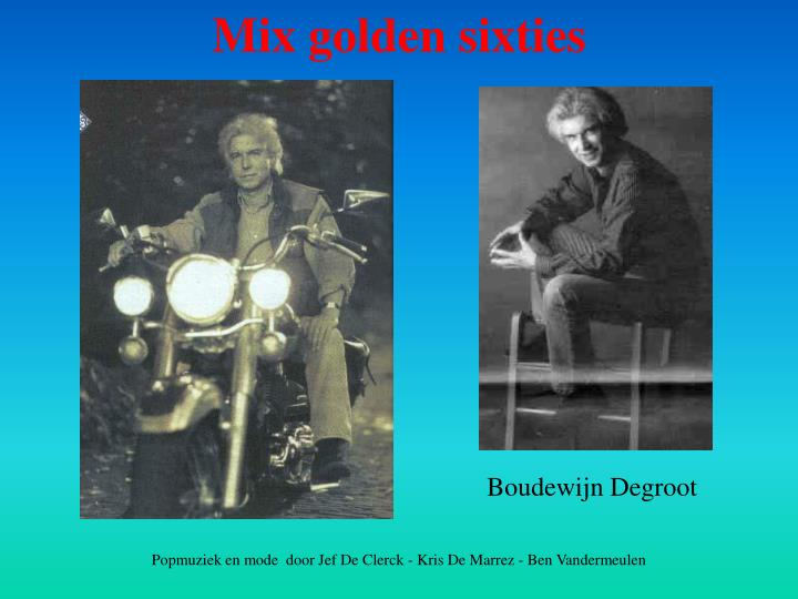 Mix golden sixties