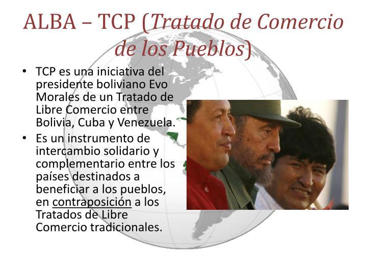 ALBA – TCP (
