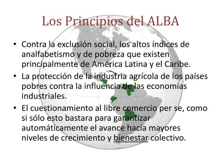 Los Principios del ALBA