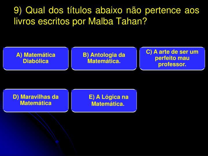 A) Matemática Diabólica