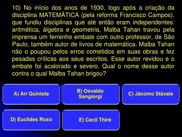 B) Osvaldo