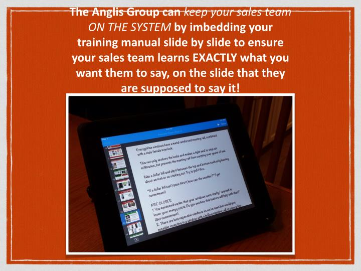 The Anglis Group can
