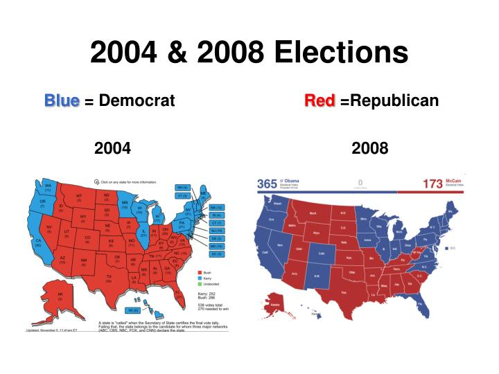 2004 & 2008 Elections
