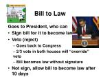 bill to law1