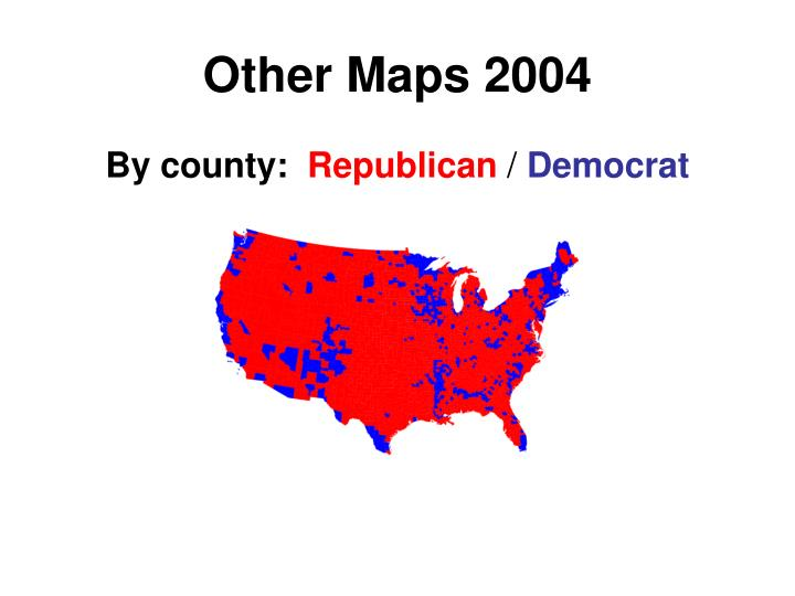 Other Maps 2004
