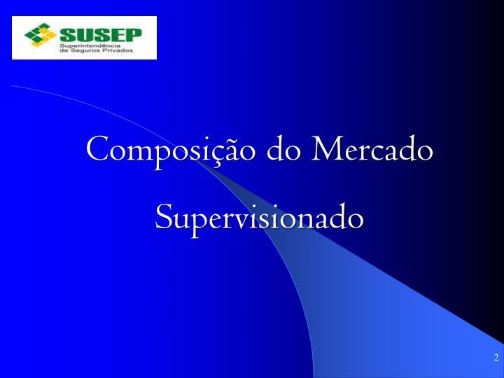 Composição do Mercado Supervisionado