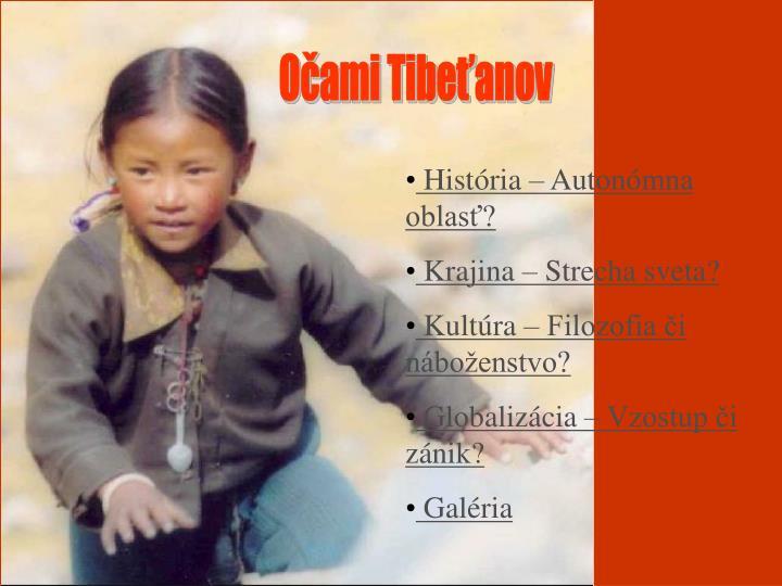 Očami Tibeťanov