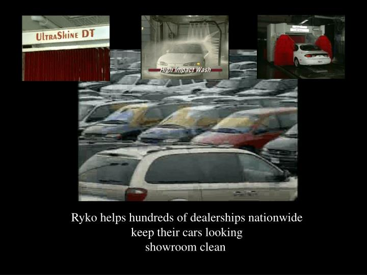 Ryko helps hundreds of dealerships nationwide