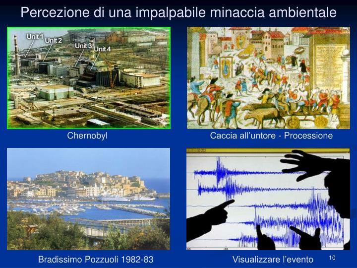 Percezione di una impalpabile minaccia ambientale