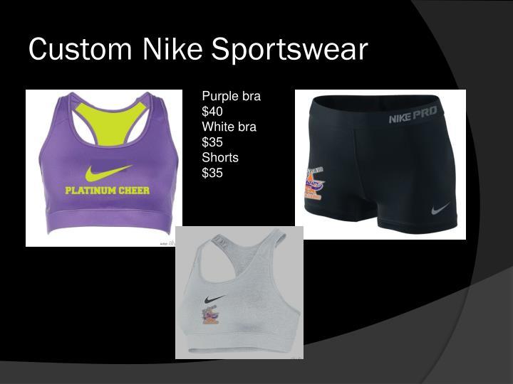 Custom Nike Sportswear
