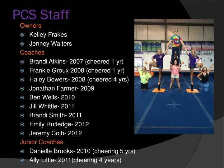 PCS Staff