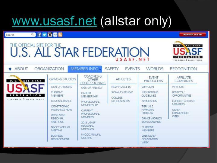 www.usasf.net