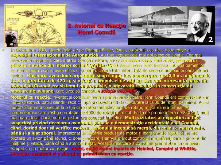 2. Avionul cu Reacţie