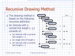 recursive drawing method