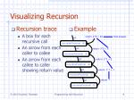 visualizing recursion