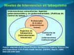 niveles de intervenci n en tabaquismo