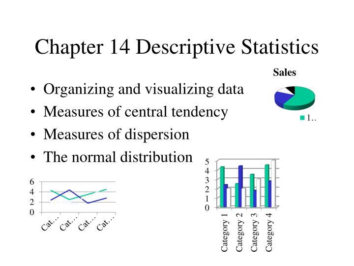 Chapter 14 Descriptive Statistics