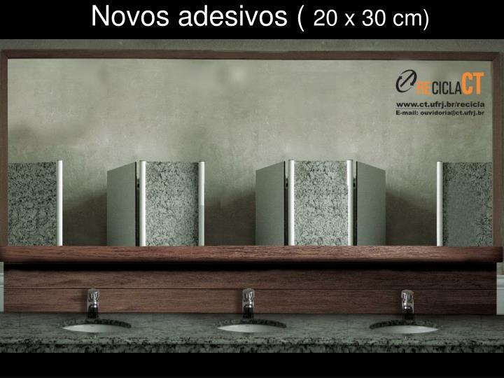 Novos adesivos (