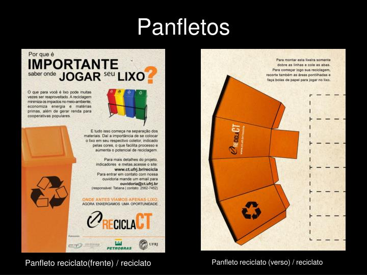 Panfletos