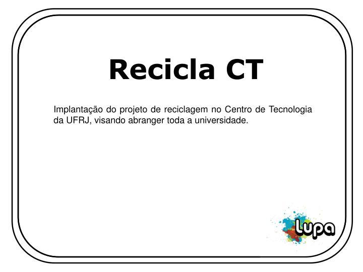 Recicla CT