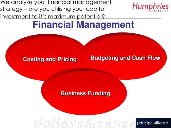 We analyze your financial management strategy – are you utilising your capital investment to it's maximum potential?