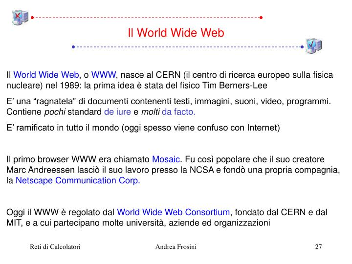 Il World Wide Web
