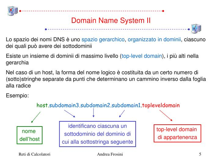 Domain Name System II
