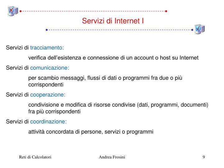 Servizi di Internet I