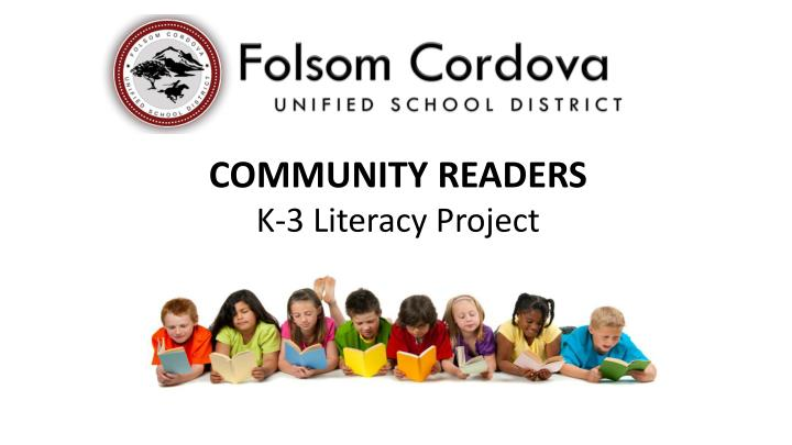 COMMUNITY READERS