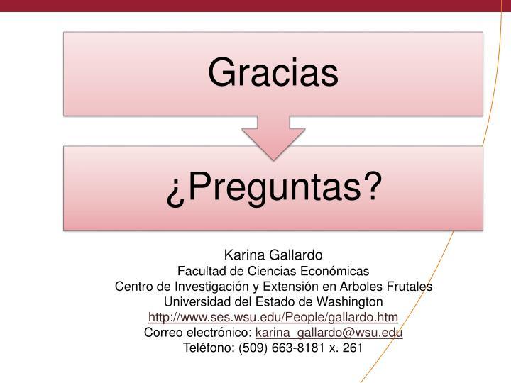 Karina Gallardo