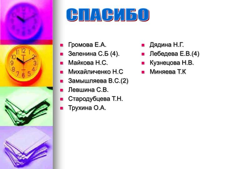 Громова Е.А.