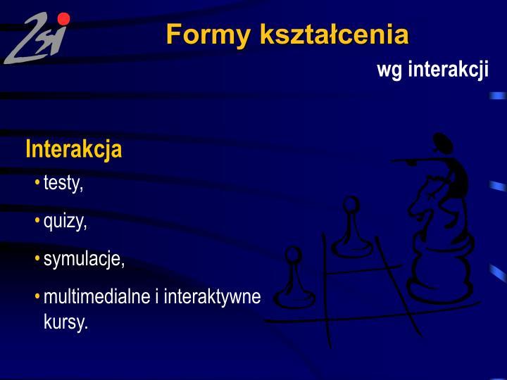 Formy kształcenia