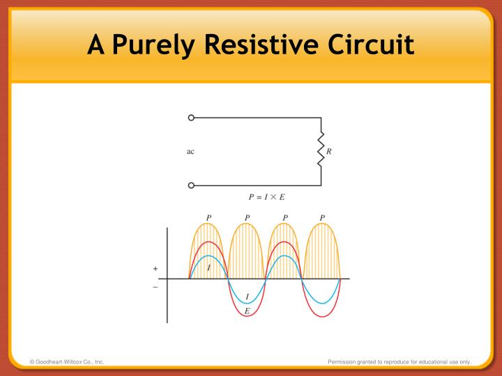 A Purely Resistive Circuit
