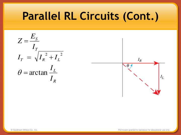 Parallel RL Circuits (Cont.)