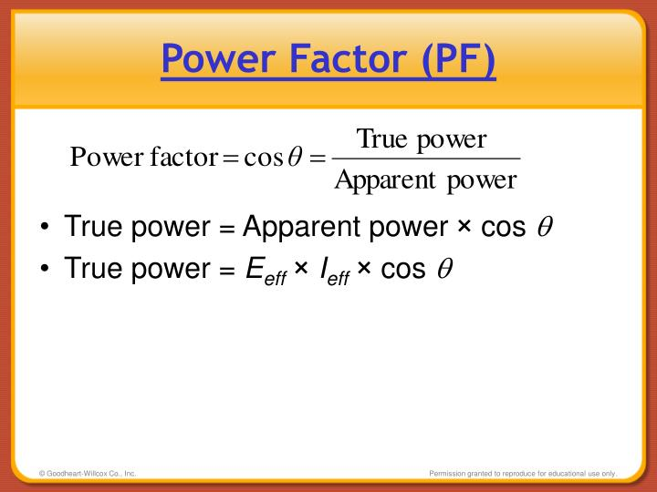 Power Factor (PF)