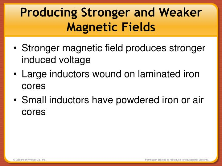 Producing Stronger and Weaker Magnetic Fields