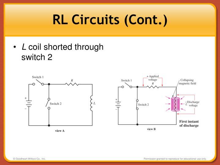 RL Circuits (Cont.)