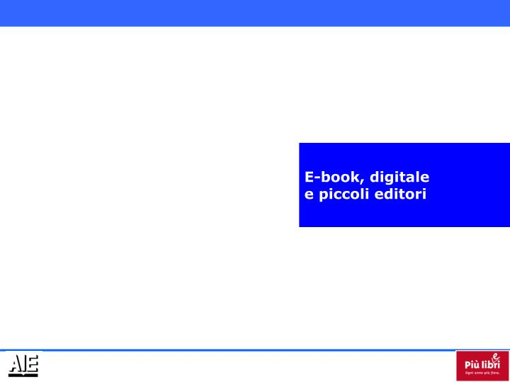 E-book, digitale