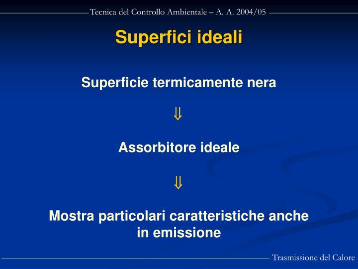 Superfici ideali