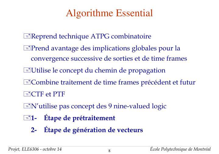 Algorithme Essential