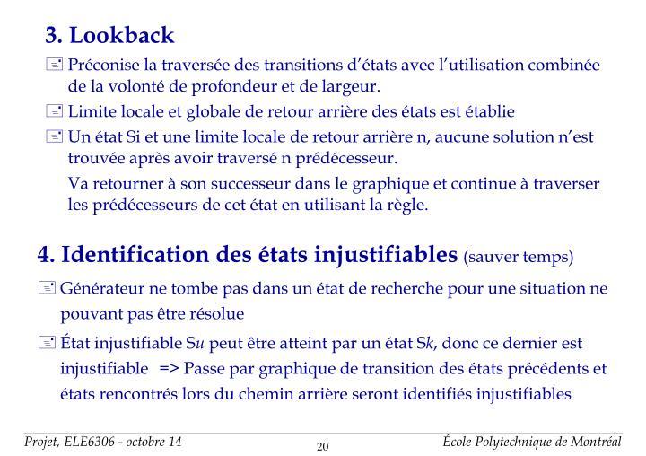 3. Lookback